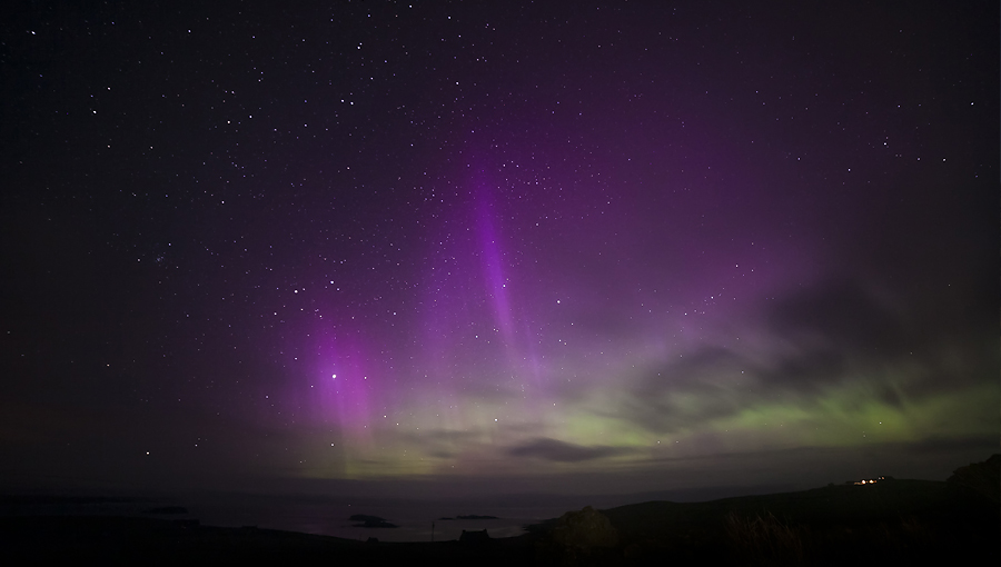 Aurora in Shetland